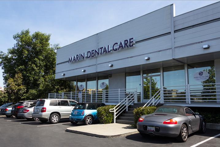 Marin Dental Care office building