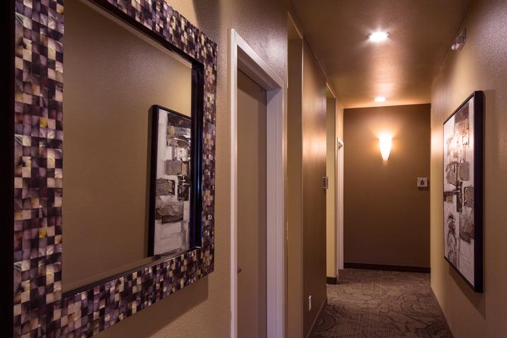 marin dental care office hallway