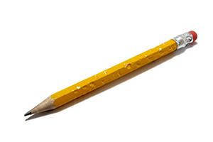 Chewed Pencil